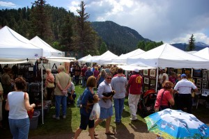 Labor Day weekend arts and crafts fair
