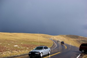 Trail Ridge Road at about 12,000 feet above sea level