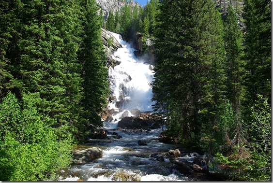 Hidden Falls, Grand Teton Nationa Park