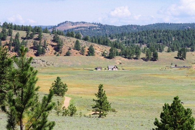 Hornbek Homestead; Florissant Fossil Bed National Monument, Colorado, September 9, 2011