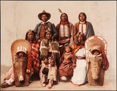 Ute Chief Sevara and Family, Beinecke Digital Collections 1004712